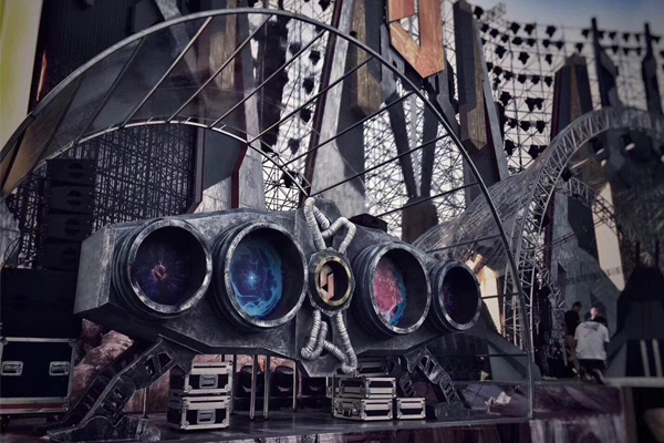 鹏观舞台桁架应用案例